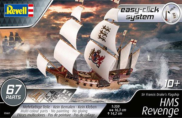HMS リベンジプラモデル(レベル帆船 (Sailing Ships)No.05661)商品画像