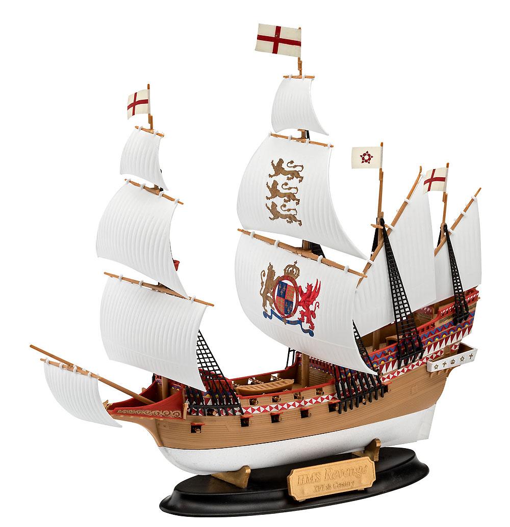 HMS リベンジプラモデル(レベル帆船 (Sailing Ships)No.05661)商品画像_2