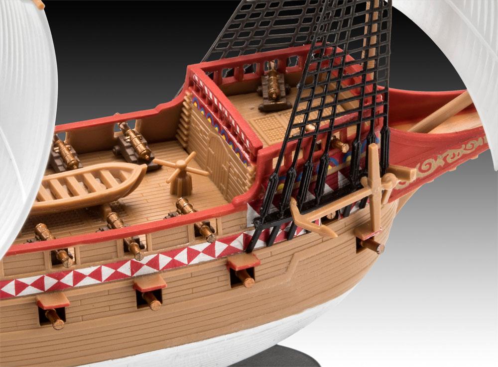 HMS リベンジプラモデル(レベル帆船 (Sailing Ships)No.05661)商品画像_3