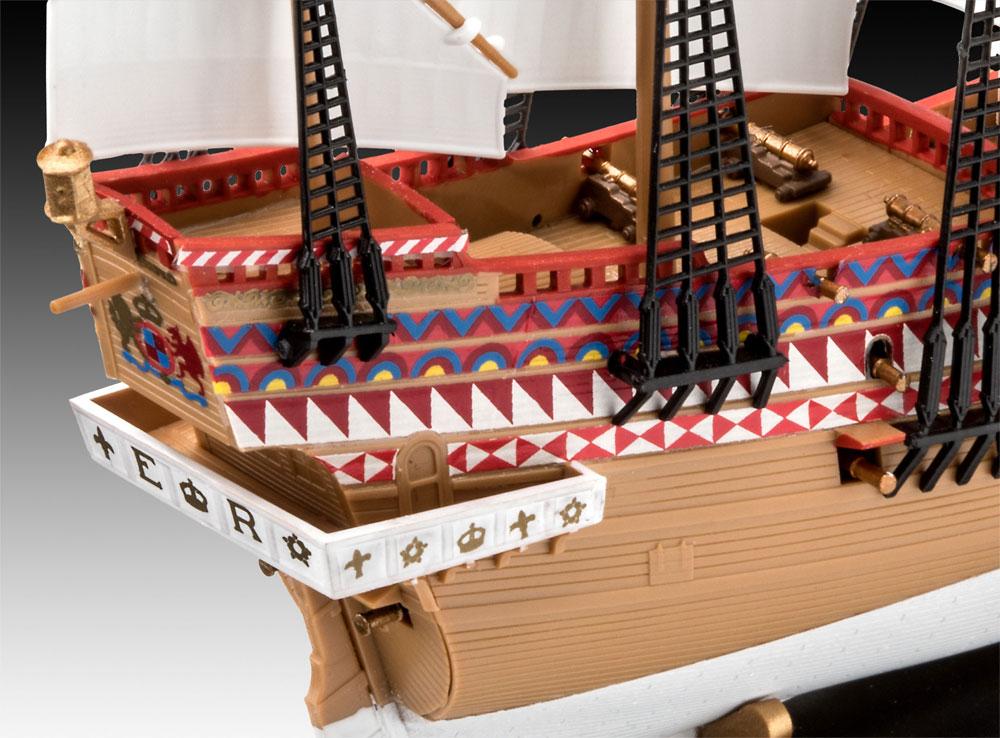 HMS リベンジプラモデル(レベル帆船 (Sailing Ships)No.05661)商品画像_4