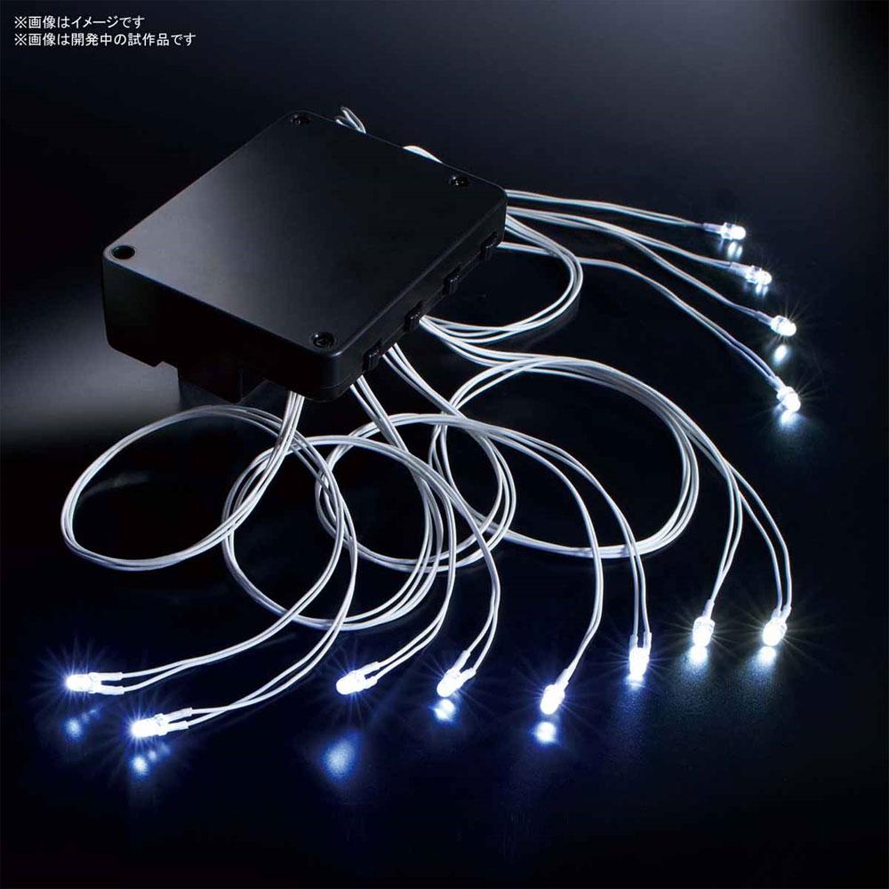 LEDユニット (白) 12灯式LED)(バンダイ発光ユニットNo.2466993)商品画像_1
