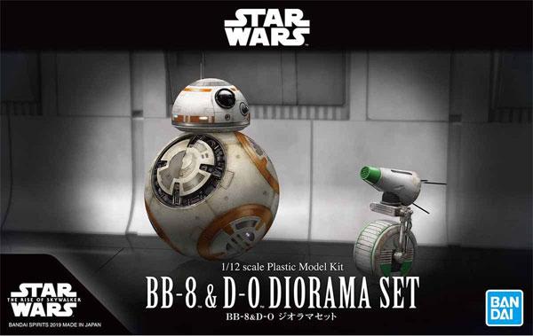 BB-8 & D-O ジオラマセットプラモデル(バンダイスターウォーズNo.5058226)商品画像
