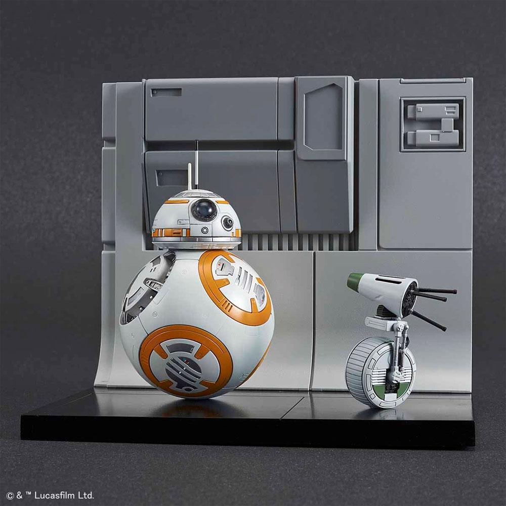 BB-8 & D-O ジオラマセットプラモデル(バンダイスターウォーズNo.5058226)商品画像_1
