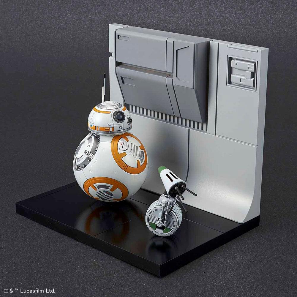 BB-8 & D-O ジオラマセットプラモデル(バンダイスターウォーズNo.5058226)商品画像_2