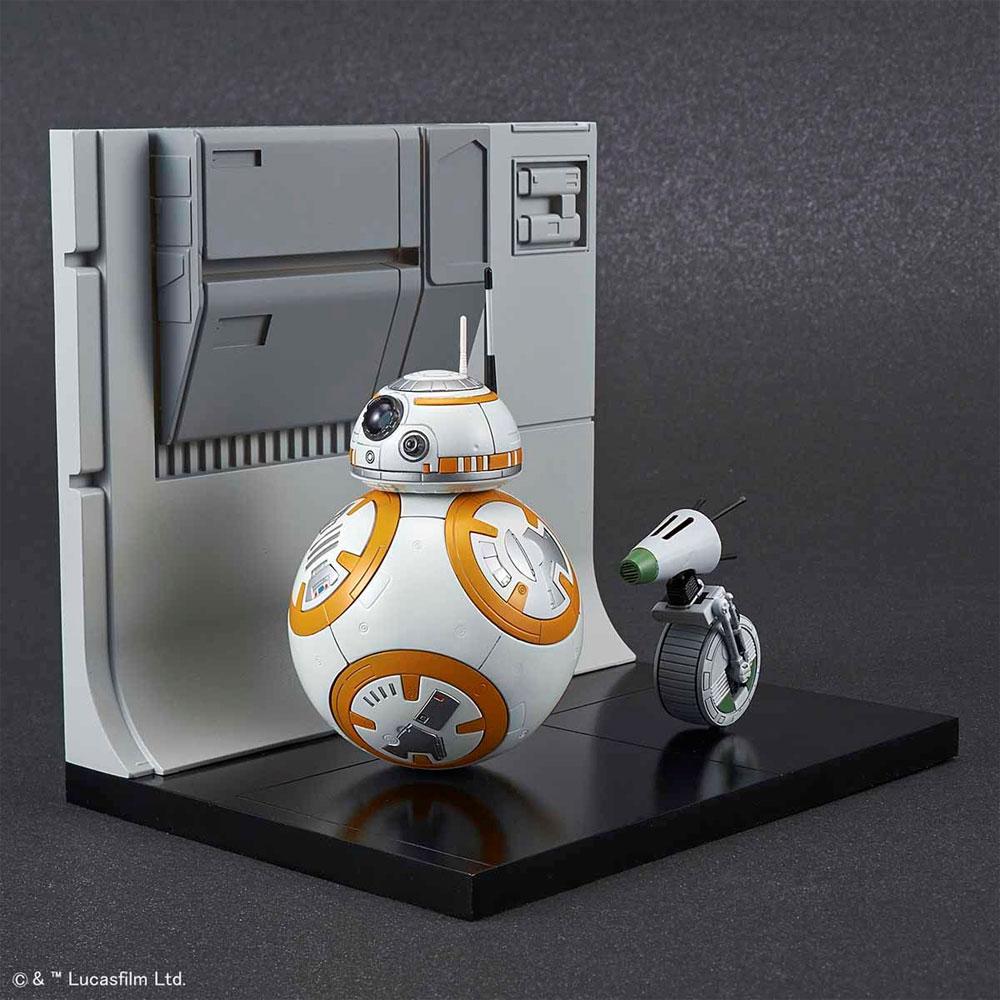 BB-8 & D-O ジオラマセットプラモデル(バンダイスターウォーズNo.5058226)商品画像_3