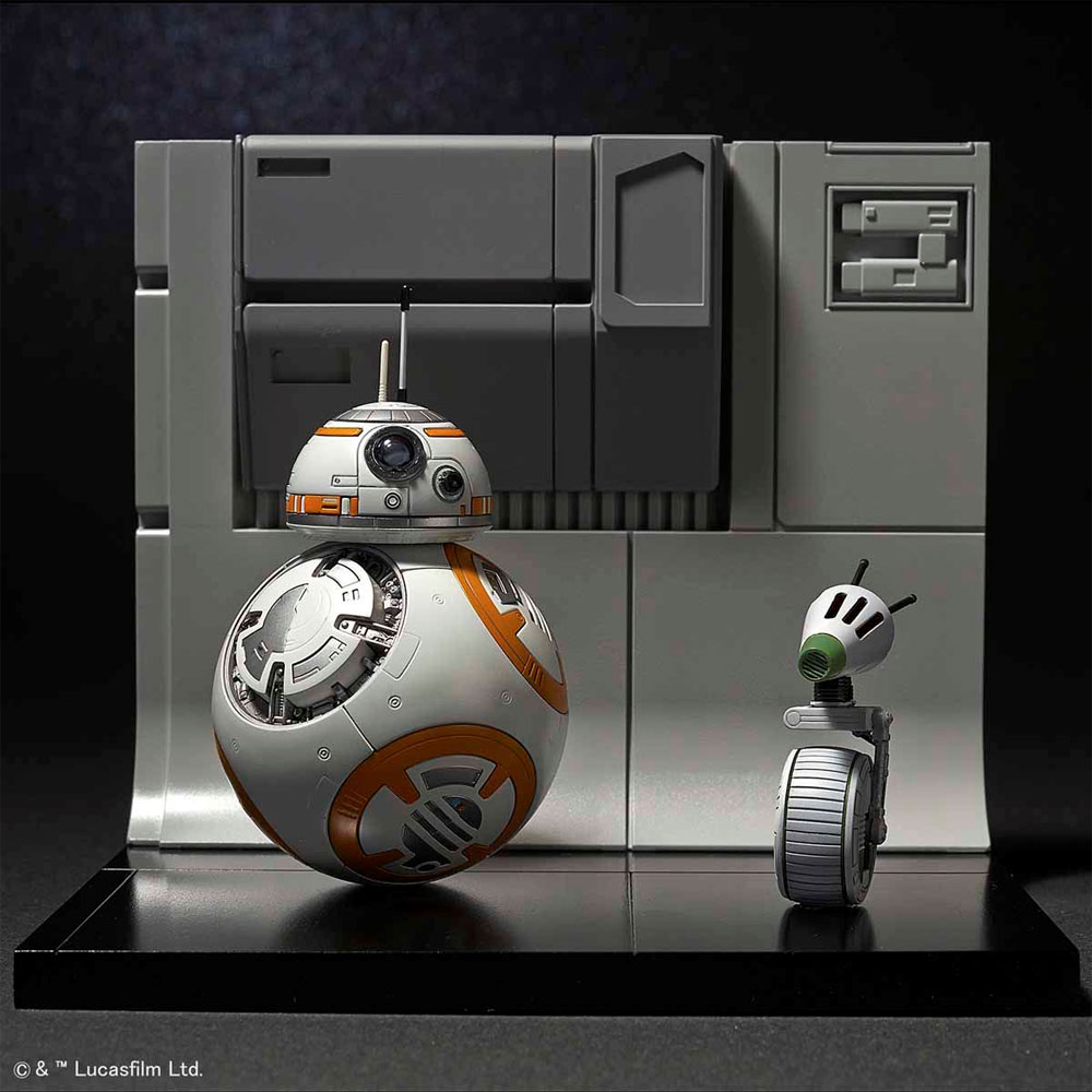 BB-8 & D-O ジオラマセットプラモデル(バンダイスターウォーズNo.5058226)商品画像_4