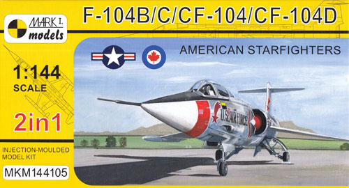 F-104B/C/CF-104/CF-104D アメリカン スターファイタープラモデル(MARK 1MARK 1 modelsNo.MKM144105)商品画像