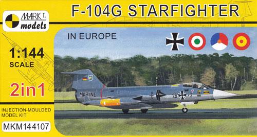 F-104G スターファイター ヨーロッパプラモデル(MARK 1MARK 1 modelsNo.MKM144107)商品画像