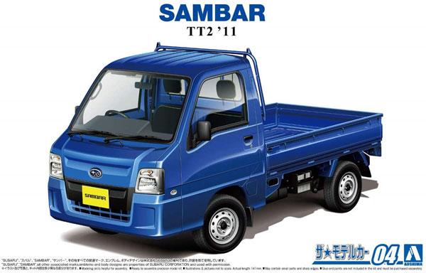 スバル TT2 サンバートラック WR ブルーリミテッド