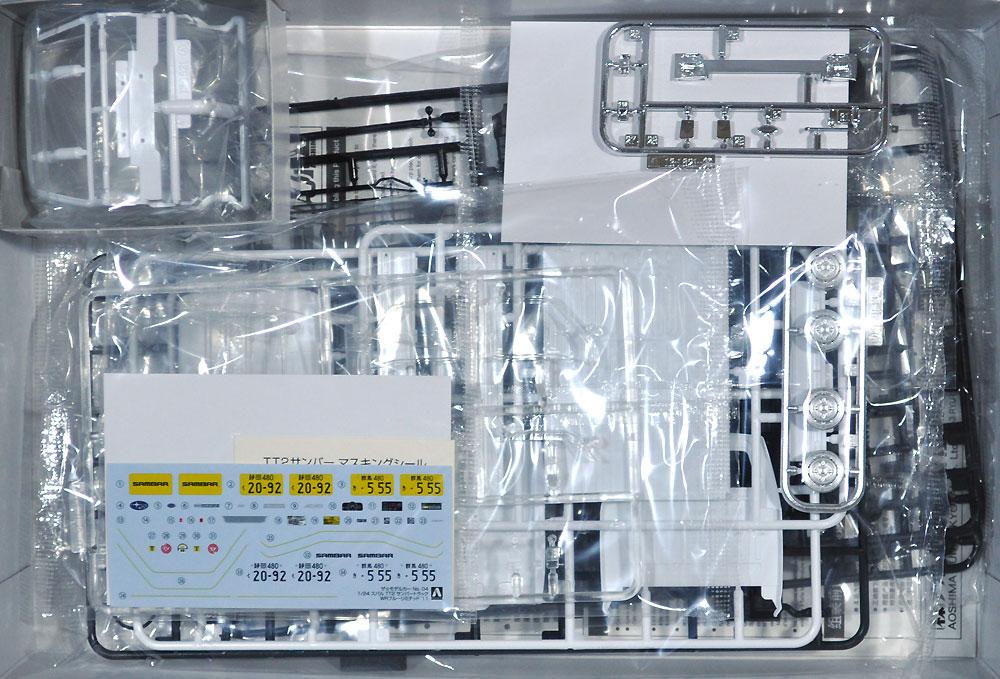 スバル TT2 サンバートラック WR ブルーリミテッド '11プラモデル(アオシマ1/24 ザ・モデルカーNo.004)商品画像_1