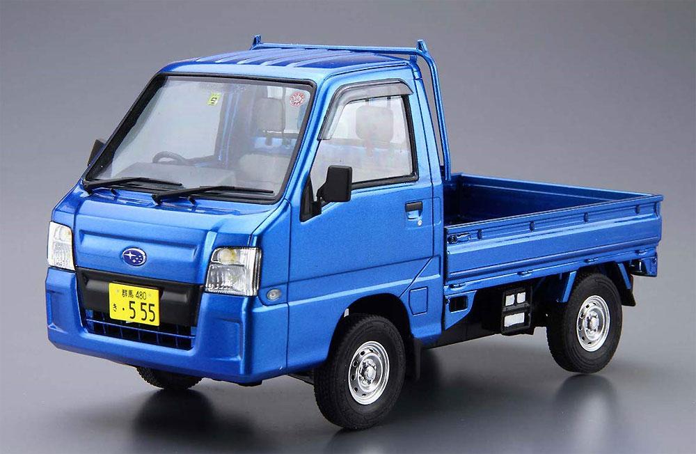 スバル TT2 サンバートラック WR ブルーリミテッド '11プラモデル(アオシマ1/24 ザ・モデルカーNo.004)商品画像_2