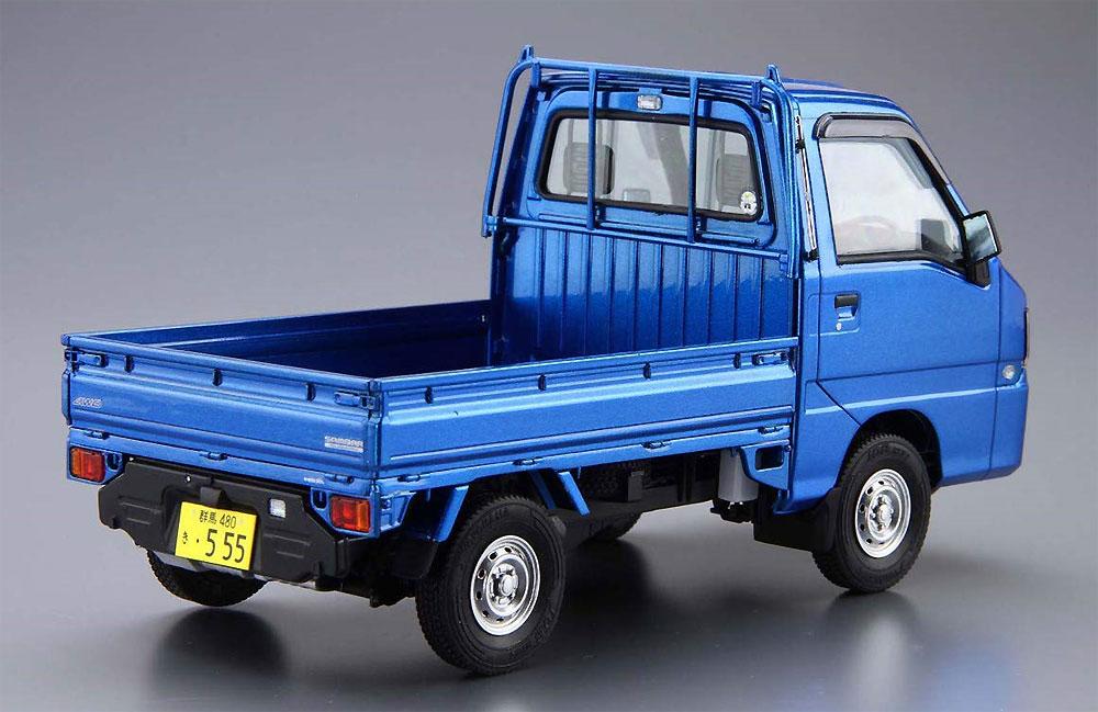 スバル TT2 サンバートラック WR ブルーリミテッド '11プラモデル(アオシマ1/24 ザ・モデルカーNo.004)商品画像_3