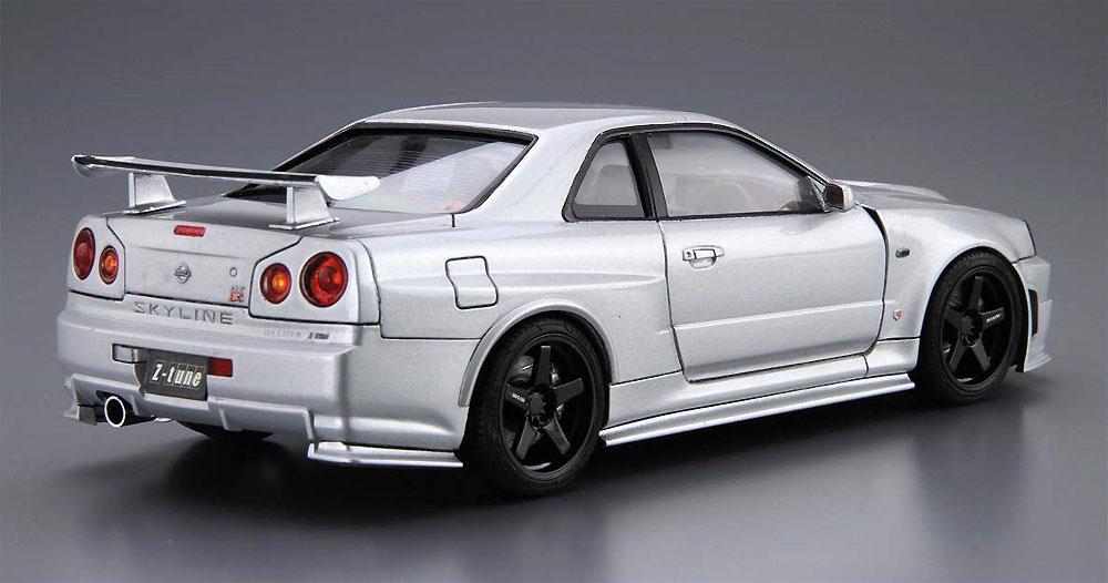 ニスモ BNR34 スカイライン GT-R Z-tune '04プラモデル(アオシマ1/24 ザ・モデルカーNo.034)商品画像_3