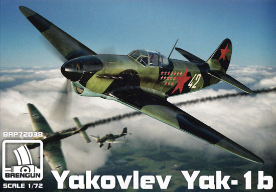 ヤコブレフ Yak-1bプラモデル(ブレンガン1/72 Plastic kitsNo.BRP72038)商品画像