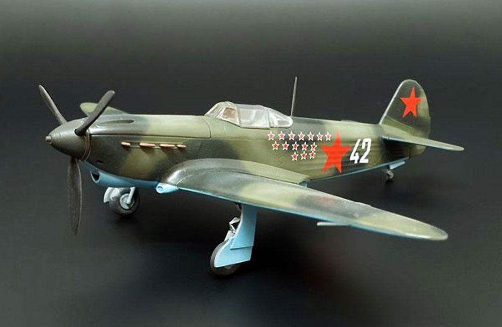 ヤコブレフ Yak-1bプラモデル(ブレンガン1/72 Plastic kitsNo.BRP72038)商品画像_2