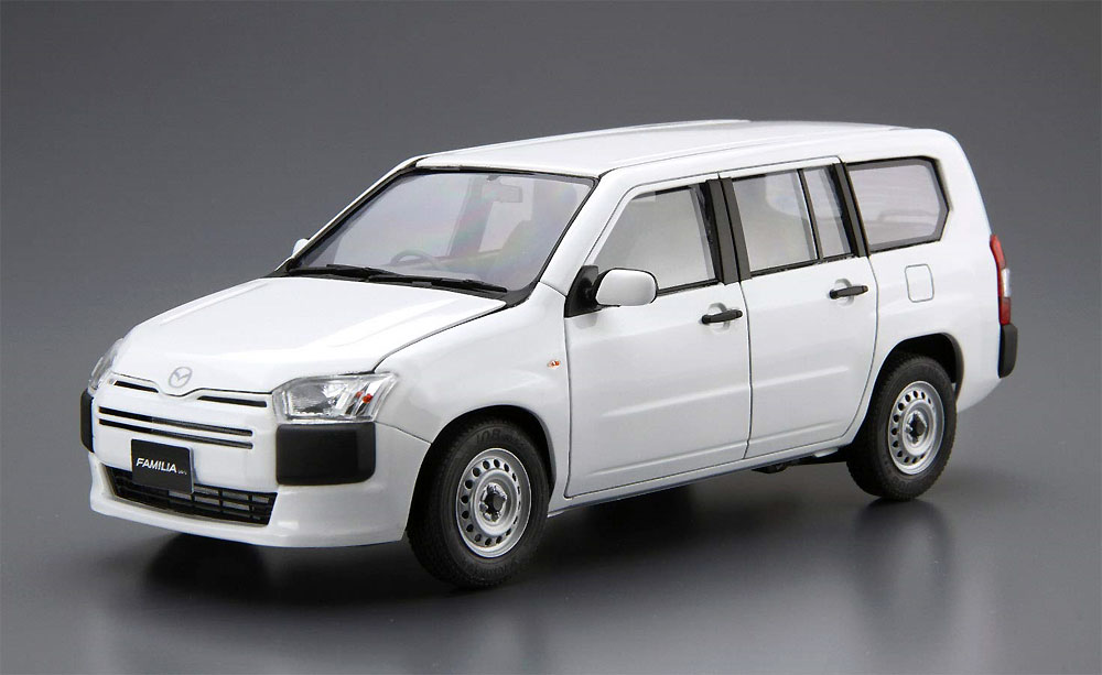 マツダ NCP160M ファミリア バン '18プラモデル(アオシマ1/24 ザ・モデルカーNo.SP4905083057865)商品画像_2