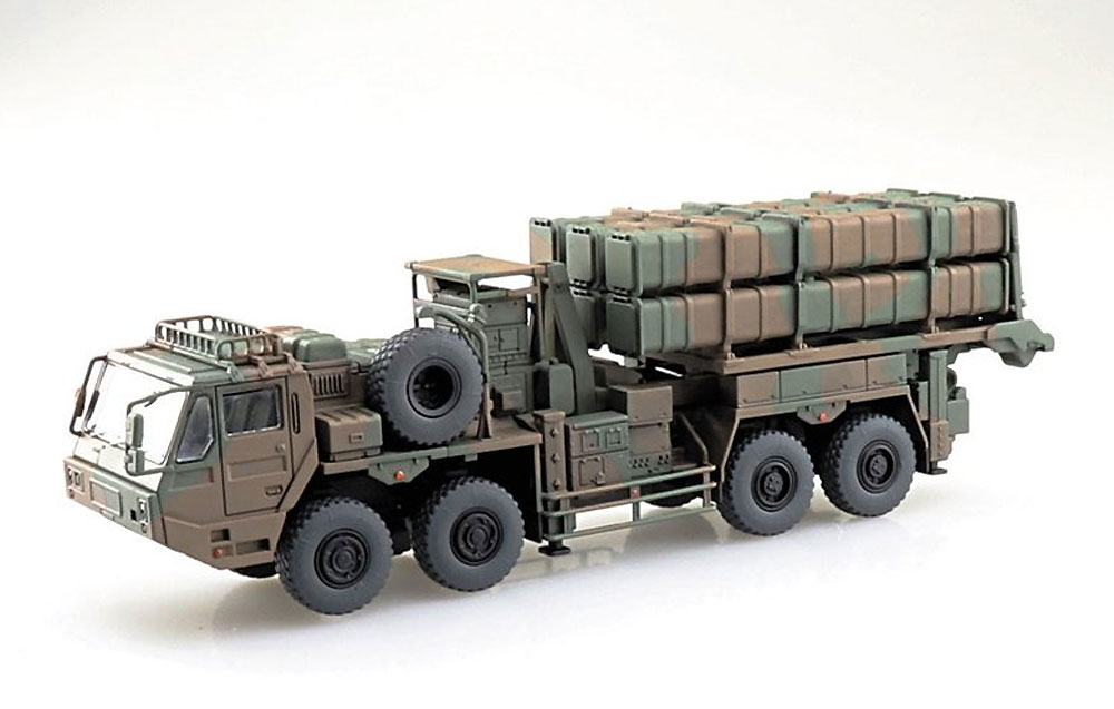 陸上自衛隊 12式地対艦誘導弾プラモデル(アオシマ1/72 ミリタリーモデルキットシリーズNo.018)商品画像_2