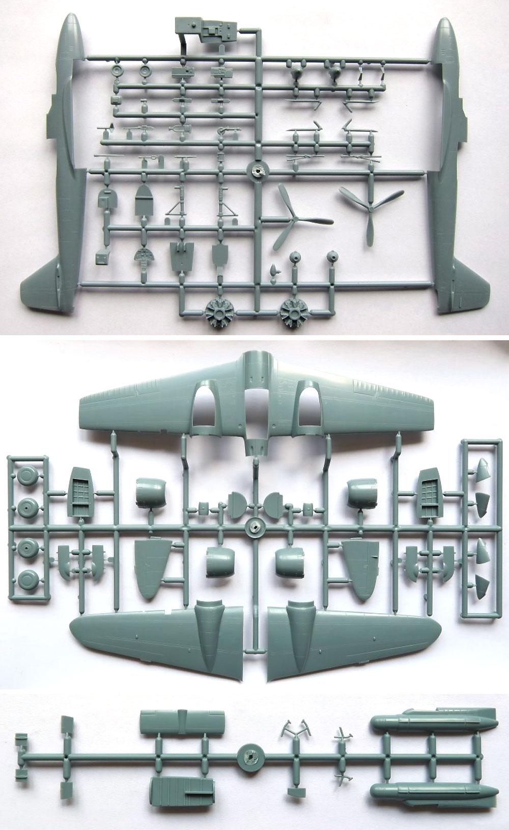 川崎 キ102b w/イ号無線誘導弾プラモデル(ソード1/72 エアクラフト プラモデルNo.SW72125)商品画像_2