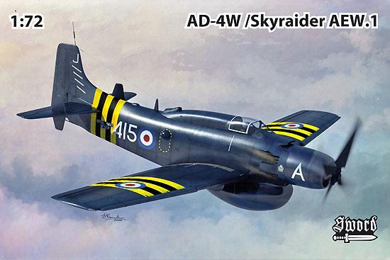 AD-4W/AEW.1 スカイレーダープラモデル(ソード1/72 エアクラフト プラモデルNo.SW72126)商品画像