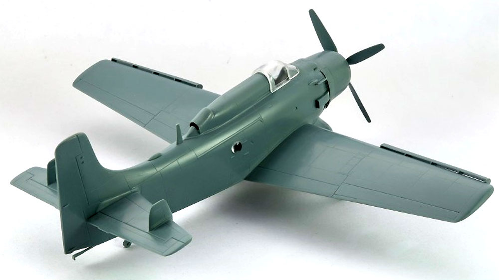 AD-4W/AEW.1 スカイレーダープラモデル(ソード1/72 エアクラフト プラモデルNo.SW72126)商品画像_4