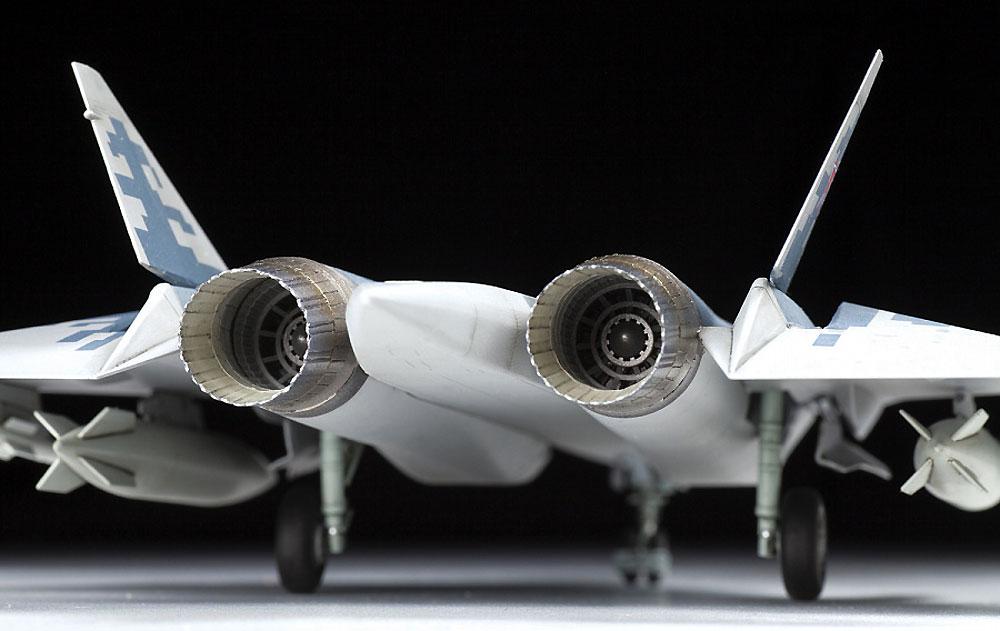 スホーイ Su-57プラモデル(ズベズダ1/72 エアクラフト プラモデルNo.7319)商品画像_3