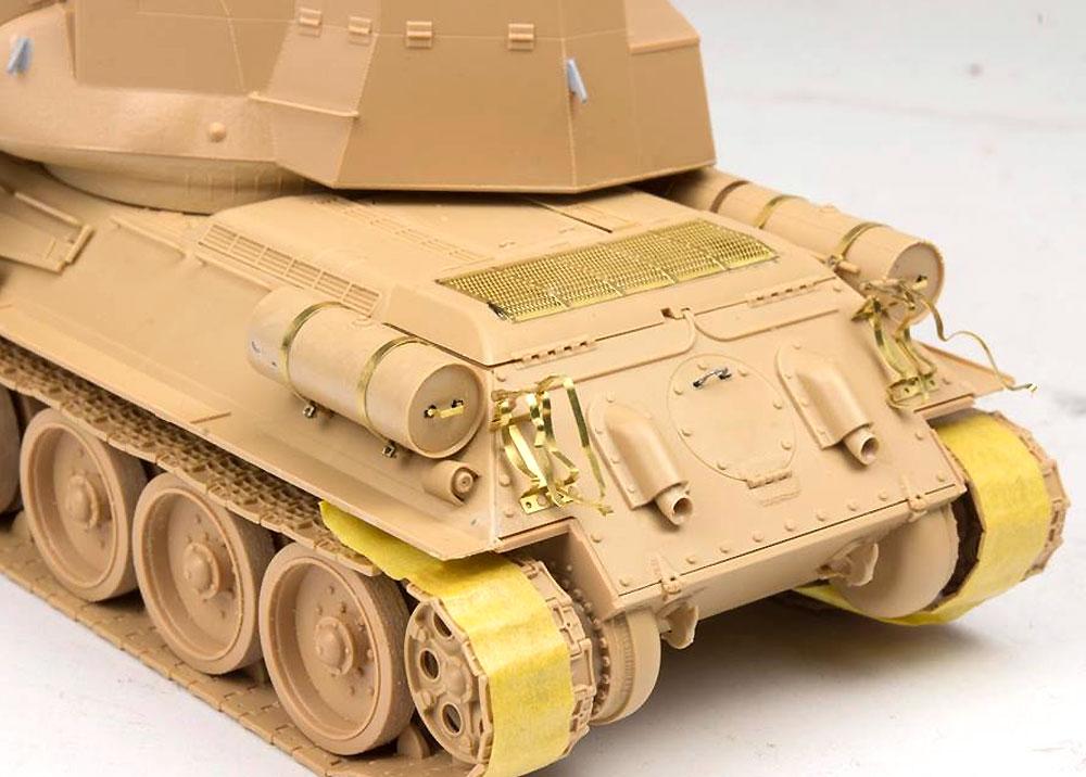 T-34/D-30 122mm自走砲 シリア軍プラモデル(ライ フィールド モデル1/35 AFVNo.5030)商品画像_4
