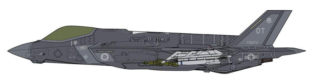 F-35 ライトニング 2 (A型) ビーストモードプラモデル(ハセガワ1/72 飛行機 限定生産No.02315)商品画像_2