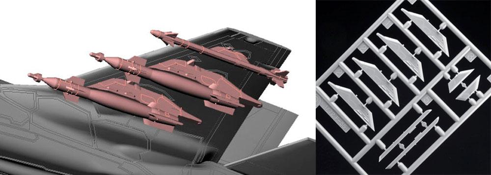 F-35 ライトニング 2 (A型) ビーストモードプラモデル(ハセガワ1/72 飛行機 限定生産No.02315)商品画像_3