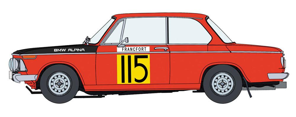 BMW 2002 ti 1969 モンテカルロ ラリー 2/5 クラス ウィナープラモデル(ハセガワ1/24 自動車 限定生産No.20420)商品画像_2