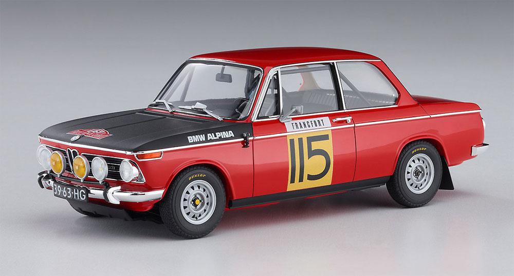 BMW 2002 ti 1969 モンテカルロ ラリー 2/5 クラス ウィナープラモデル(ハセガワ1/24 自動車 限定生産No.20420)商品画像_3