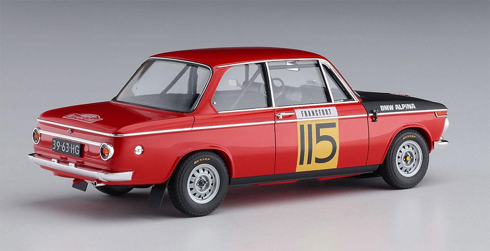 BMW 2002 ti 1969 モンテカルロ ラリー 2/5 クラス ウィナープラモデル(ハセガワ1/24 自動車 限定生産No.20420)商品画像_4