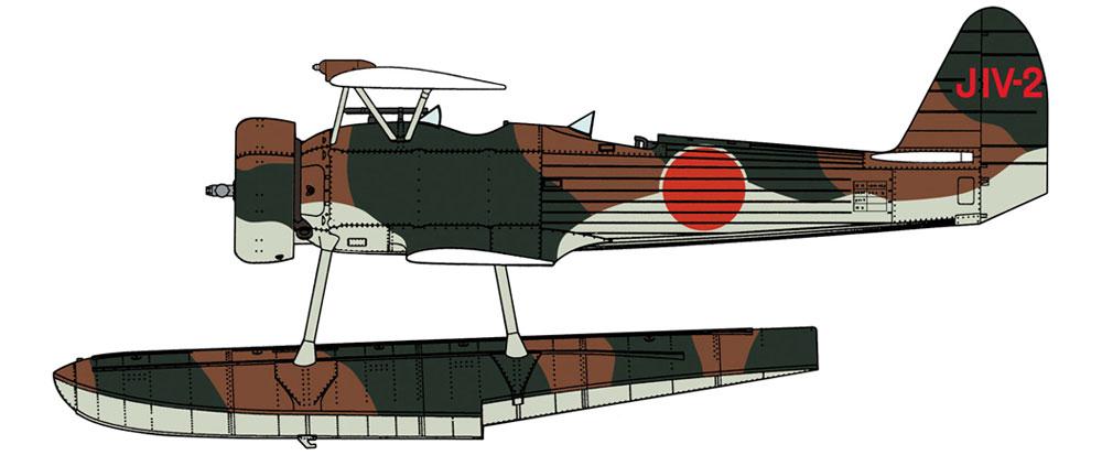 中島 E8N1 九五式 一号水上偵察機 摩耶搭載機プラモデル(ハセガワ1/48 飛行機 限定生産No.07479)商品画像_1