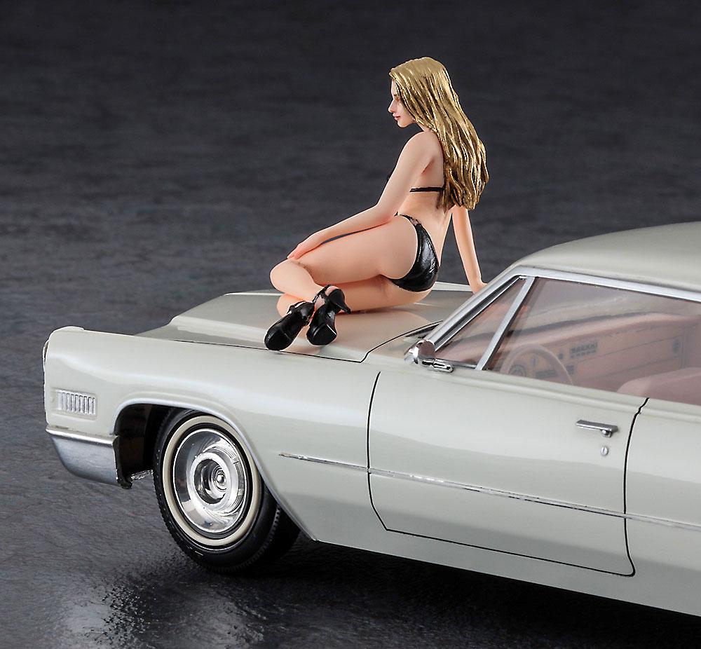 1966 アメリカン クーペ タイプ C w/ブロンドガールズフィギュアプラモデル(ハセガワ1/24 自動車 限定生産No.SP432)商品画像_3