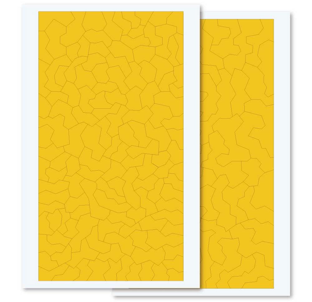 スプリンター 迷彩用 マスキングシール (S×2 M×2)マスキングシート(HIQパーツ塗装用品No.SPC-MSK)商品画像_3