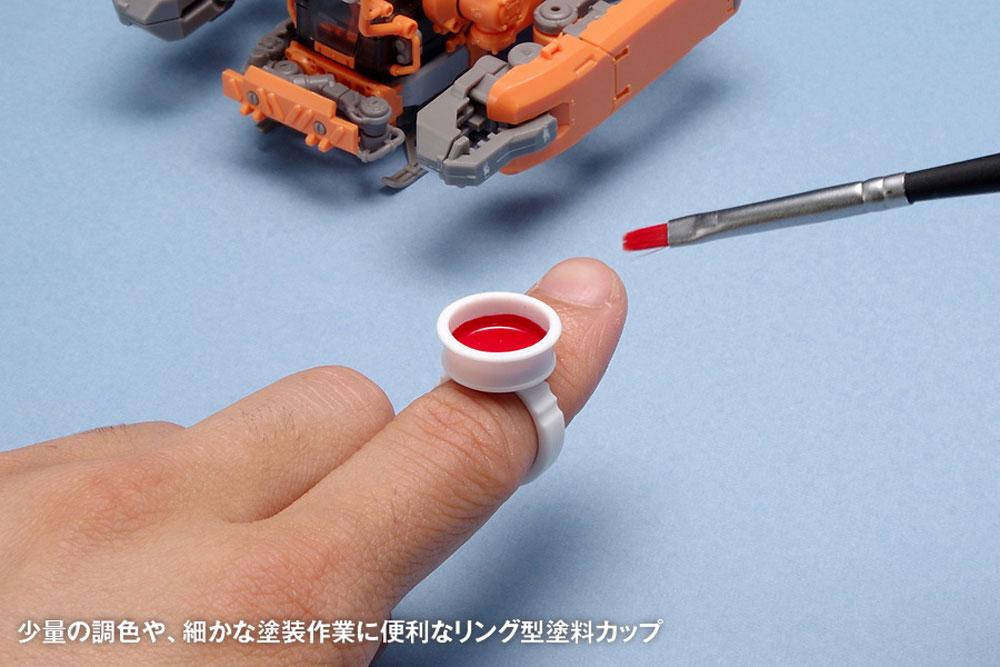 リング型塗料カップ A 0.4ccカップ(ウェーブフィニッシュプロダクツNo.OF-061)商品画像_2