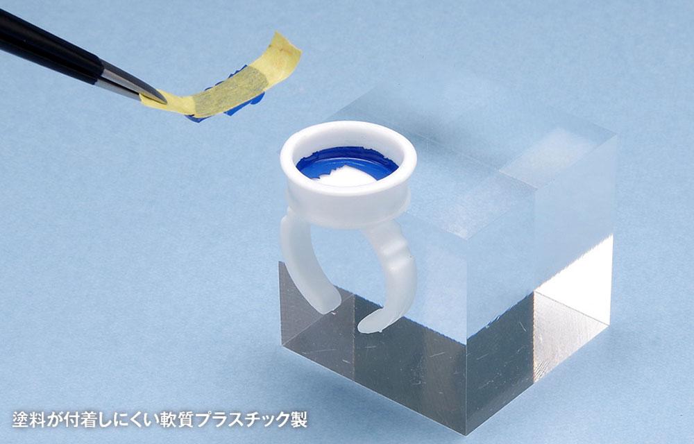 リング型塗料カップ B 0.2cc×2カップ(ウェーブホビーツールシリーズNo.OF-062)商品画像_3