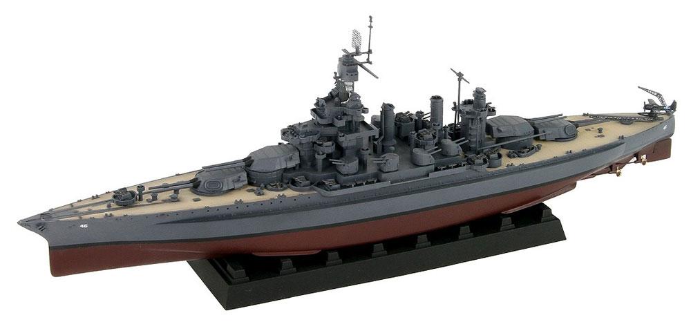 アメリカ海軍 コロラド級戦艦 BB-46 メリーランド 1945 真鍮挽き物砲身、旗&旗竿・艦名プレート エッチングパーツ付きプラモデル(ピットロード1/700 スカイウェーブ W シリーズNo.W199SP)商品画像_1