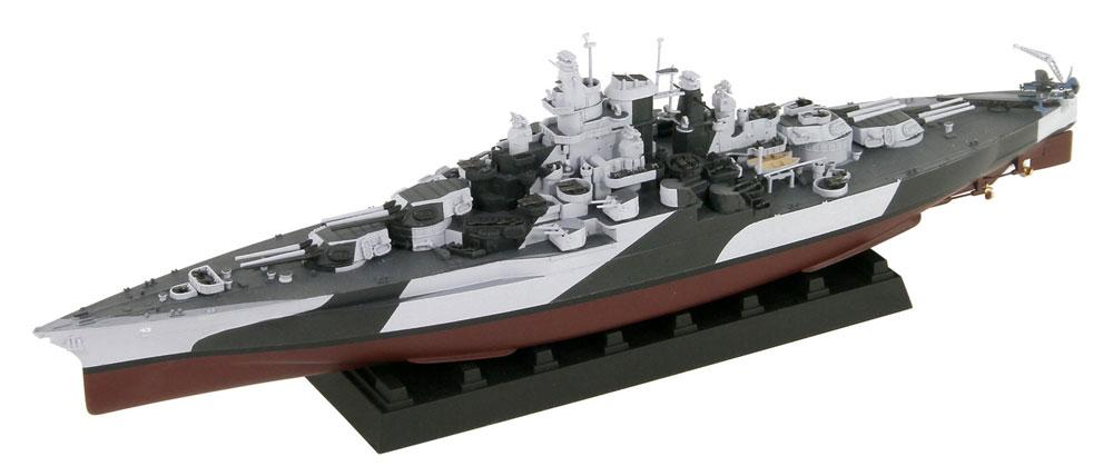 アメリカ海軍 テネシー級戦艦 BB-43 テネシー 1944 真鍮挽き物砲身、旗&旗竿・艦名プレート エッチングパーツ付きプラモデル(ピットロード1/700 スカイウェーブ W シリーズNo.W202SP)商品画像_1