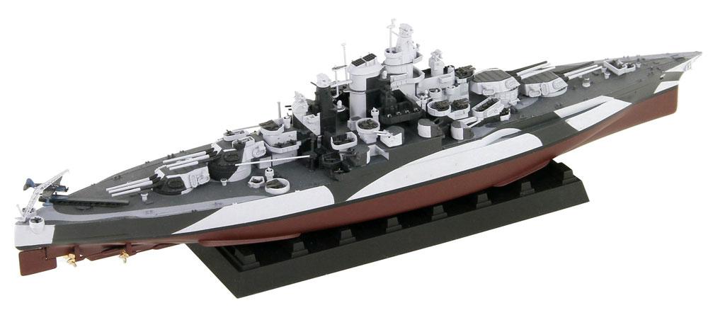 アメリカ海軍 テネシー級戦艦 BB-43 テネシー 1944 真鍮挽き物砲身、旗&旗竿・艦名プレート エッチングパーツ付きプラモデル(ピットロード1/700 スカイウェーブ W シリーズNo.W202SP)商品画像_2