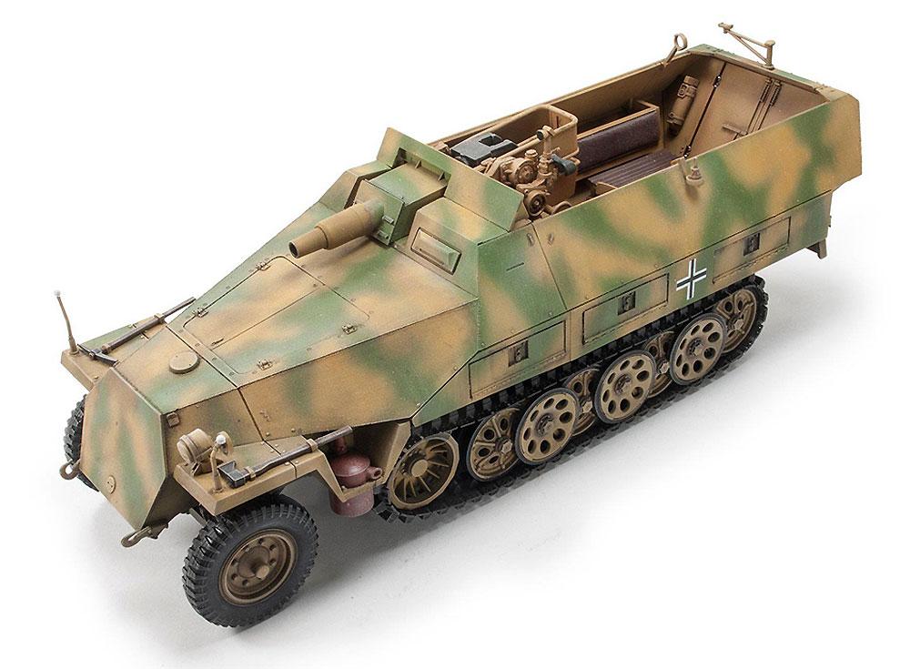 Sd.Kfz.251/9 Ausf.D 7.5cm Kwk37 戦車砲搭載 火力支援車 前期型プラモデル(AFV CLUB1/35 AFV シリーズNo.AF35278)商品画像_2