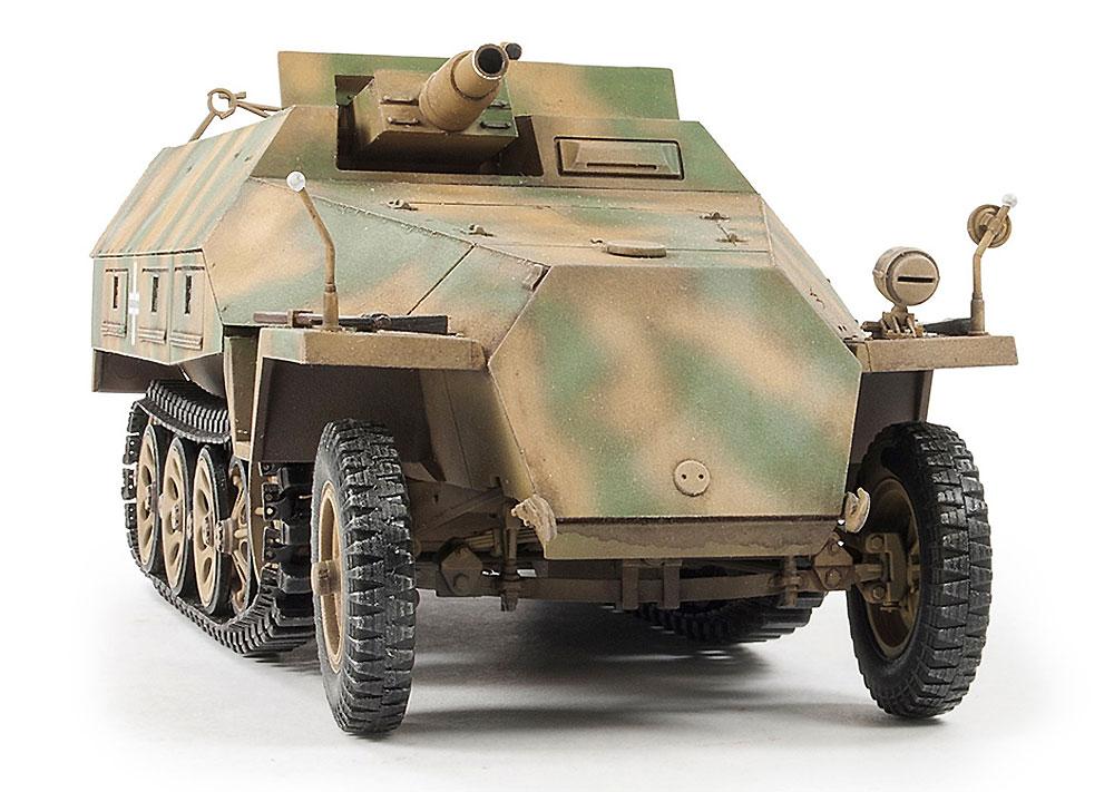 Sd.Kfz.251/9 Ausf.D 7.5cm Kwk37 戦車砲搭載 火力支援車 前期型プラモデル(AFV CLUB1/35 AFV シリーズNo.AF35278)商品画像_3