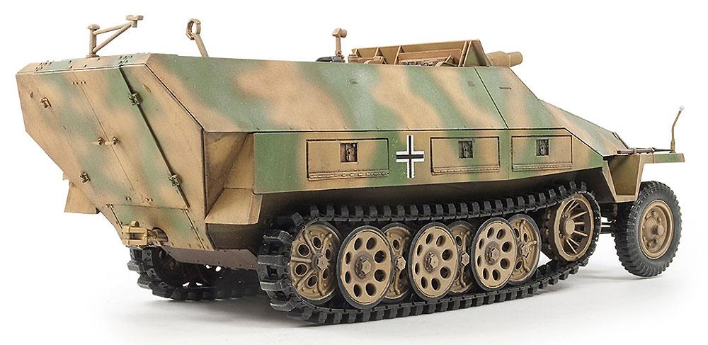 Sd.Kfz.251/9 Ausf.D 7.5cm Kwk37 戦車砲搭載 火力支援車 前期型プラモデル(AFV CLUB1/35 AFV シリーズNo.AF35278)商品画像_4