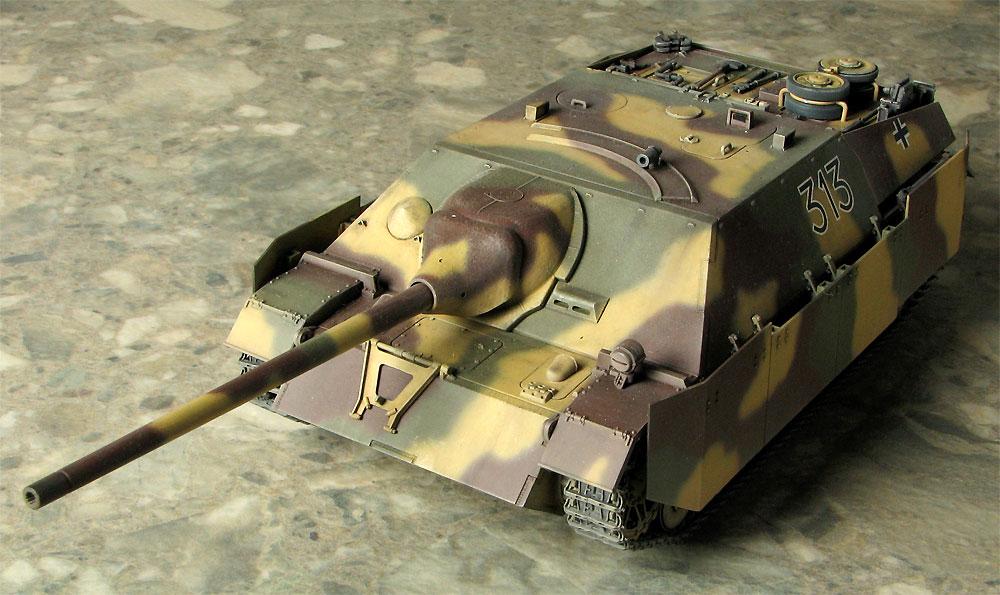 ドイツ 4号駆逐戦車 L/70 (V) ラング w/ツィメリット 2in1プラモデル(ドラゴン1/35 '39-'45 SeriesNo.6498)商品画像_3