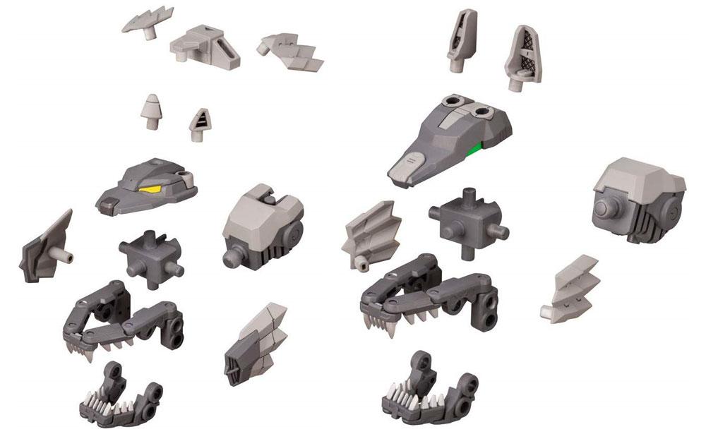 カスタマイズヘッド Cプラモデル(コトブキヤM.S.G モデリングサポートグッズ メカサプライNo.MJ16)商品画像_2