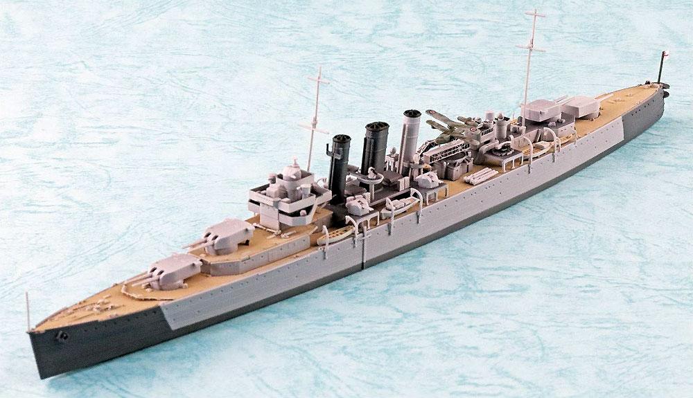 英国海軍 重巡洋艦 ドーセットシャープラモデル(アオシマ1/700 ウォーターラインシリーズNo.808)商品画像_2