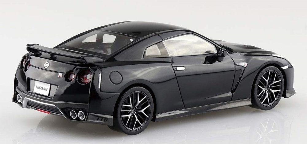ニッサン GT-R メテオフレークブラックパールプラモデル(アオシマザ・スナップキットNo.007-C)商品画像_3