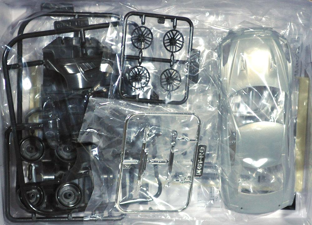 ニッサン GT-R アルティメイトメタルシルバープラモデル(アオシマザ・スナップキットNo.007-D)商品画像_1