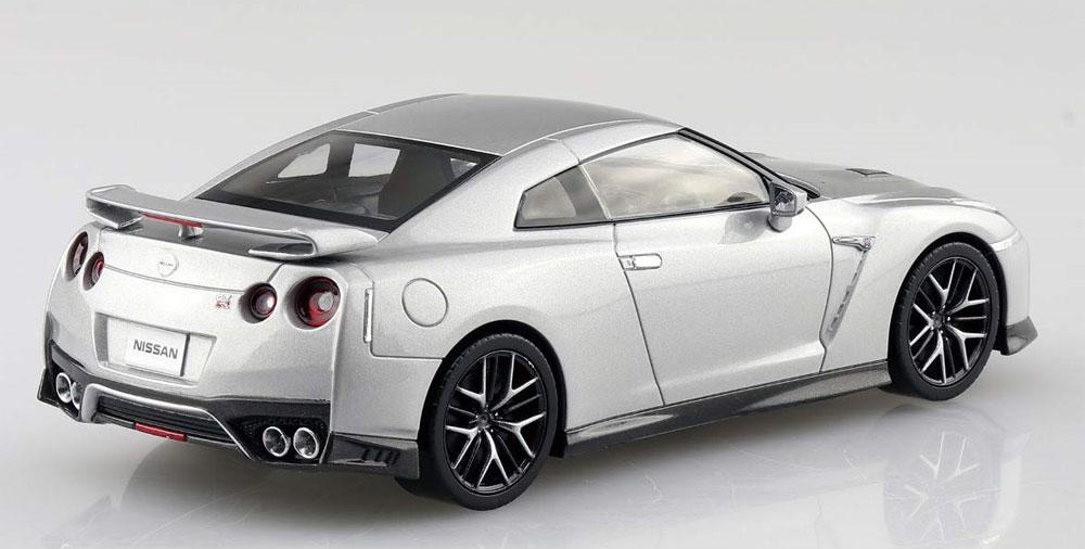 ニッサン GT-R アルティメイトメタルシルバープラモデル(アオシマザ・スナップキットNo.007-D)商品画像_3