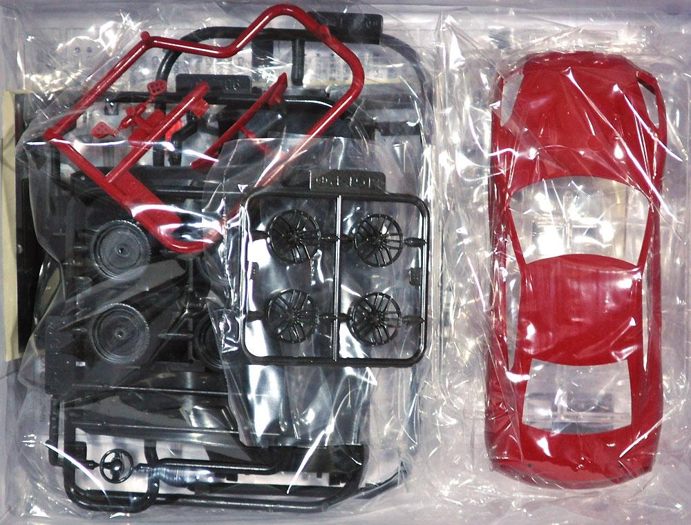 ニッサン GT-R バイブラントレッドプラモデル(アオシマザ・スナップキットNo.007-E)商品画像_1