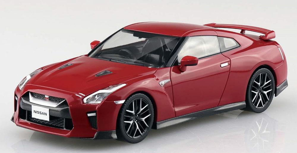 ニッサン GT-R バイブラントレッドプラモデル(アオシマザ・スナップキットNo.007-E)商品画像_2